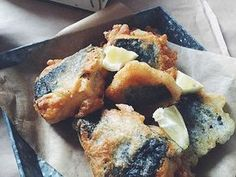 How To Make A Super Comforting Vegan 'Fish & Chips' is part of How To Make A Super Comforting Vegan Fish Chips Grazia - A weeknight dinner when you want to make a fuss, but don't want to break the bank Vegan Foods, Vegan Dishes, Vegan Vegetarian, Vegetarian Recipes, Tofu Dishes, Vegan Meals, Tofu Recipes, Cooking Recipes, Healthy Recipes