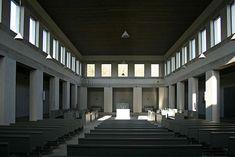 schitterend klooster door Dom Hans van der Laan. Verhoudingen zoals ze bedoeld zijn.