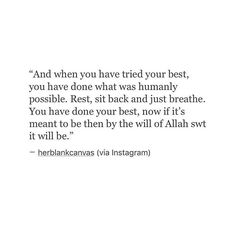 Just breathe.. #islam #istiqomah #herblankcanvas #quote