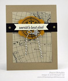 Going Global card created by Dawn Olchefske for Control Freak Blog Tour #dostamping #stampinup