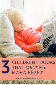 Are you looking for some heartwarming children's books to add to your kid's book collection? Today I'm talking about 3 great picture books we've been reading lately and are totally picture books that will make you cry (or maybe I am just a super emotional reader). If you are looking for beautiful picture books about unconditional love and the hopes and dreams you have for your kid...take a look at these new picture books.