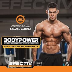 See you guys soon at BodyPower next weekend. Make sure you come and say hi at @efectivnutri BoothR150. . . #fitfam #fitness #muscle #bodybuilding #health #lifestyle #nutrition #diet #flex #abs #lift #action #success #motivation #dedication #inspire #instafit #instamood #instadaily #selfie #aesthetics #ripped #lean #physique #train #workout by laszlobaritz