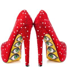 The PERFECT red shoe in my fantasy world!  I am in love!