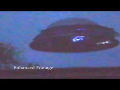 Alien Inside Flying Saucer? UFO Sightings Best UFO Footage Of 2014 Enhanced New Video! - YouTube