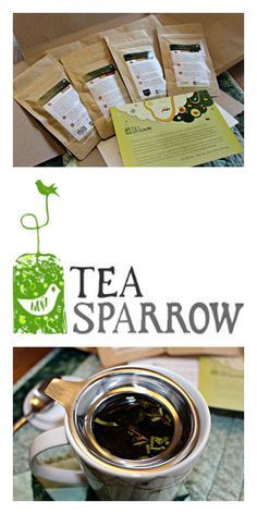 Tea Sparrow (monthly tea club) Review :: My Cup of Tea | Fox in the Kitchen