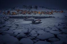 Greenland - Nuuk by Nightавтор: Mads Pihl