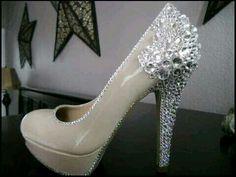 """6"""" bridal heels"""