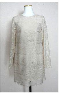 Vestido de novia - galletasdeante: mi apuesta por el look lencero-militar