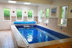 Enjoy your indoor endless pool!
