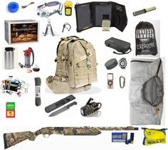 The Ultimate Bug Out Bag! Take a look at this preparation list. These are the items that you should have ready on hand if you live in an area that is in danger of natural or un-natural disasters.