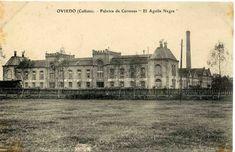 """Fabrica de cervezas """"el Aguila Negra"""" de Colloto Oviedo"""