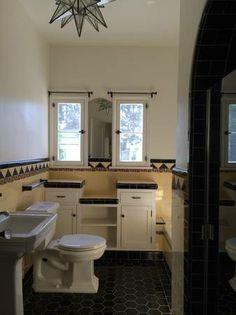 1930s restored bathroom