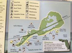 Bahia Honda State Park Karte Strände