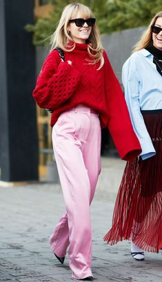 One Super-Cool Scandi Girl and the 4 Colour Combinations You'll Copy This Year | Who What Wear UK