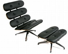 Chair made of skateboard shapes