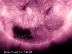 NASA finds strange dark square hole in the Sun -- Coronal Hole Squared