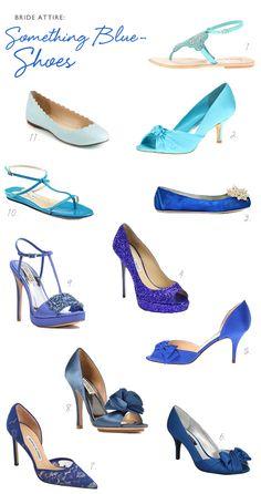 Something Blue: Shoes