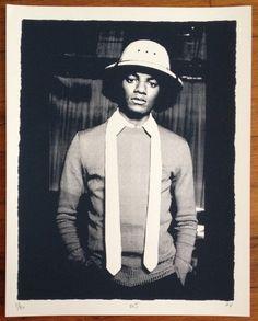 11x14 - MJ (Michael Jackson) Hand #ScreenPrint #Poster - Jackson 5 Soul Motown Music Detroit Gabe Vaughn #michaeljackson #print #walls #music #rnb