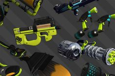 Hero mode guns from Splatoon 2