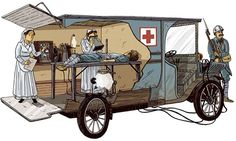 , editor of Diagnostic Imaging Europe, explains radiology practices during World War I. Marie Curie, Diorama Militar, Atlantis The Lost Empire, Military Drawings, Antique Trucks, Military Modelling, Nikola Tesla, Search And Rescue, Emergency Vehicles