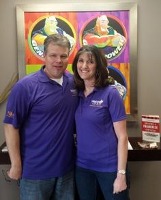 Ron and Sheri Brown, owners of Window Genie of Broomfield