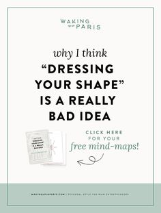 You may have read in a fashion magazine or in a book or blog somewhere, that comparing your body to a piece of fruit is a good way to help you develop your personal style. But how can that ever be a clever idea? It's rubbish. CLICK to learn why! Dressing Your Shape | Personal Style Online | Fashion Stylist | Style Tips | Mom Entrepreneur | Business Mompreneur #personalstyle #momstyle #momiform #mompreneur