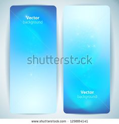 Set of abstract vector banners.