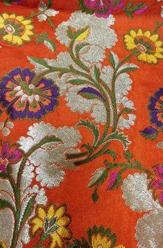Kim Khwab Fabrics - Buy Kim Khwab Fabrics online in India Brocade Fabric, Jacquard Fabric, Textile Design, Textile Art, Trendy Collection, Buy Sarees Online, Indian Suits, Fabric Online, Art Forms
