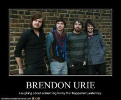 Brendon is literally me in this picture XD -<3 #patd #panicatthedisco #brendonurie