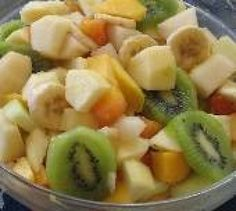 "Froutosalata"" Mixed Fruit with Orange Juice & Hone"
