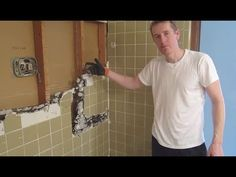 Demo Small Bathroom Remodel - (Part 1) - YouTube