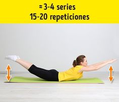 7 Effective Exercises to Get Rid of Folds on Your Back and Sides. We often forget our backs simply because we cannot see it. We don't realize how we relax, depriving our muscles of physical activity. Core Muscles, Back Muscles, Pilates Video, Lose Weight, Weight Loss, Track Workout, Thyroid Health, Physical Activities, Excercise