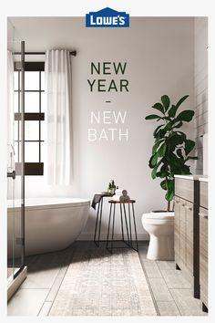 Shop Bathroom products like vanities, toilets & bathtubs. We offer top brands like allen + roth, Whirlpool & Kohler. Budget Bathroom, Master Bathroom, Bathroom Ideas, Shabby Chic Homes, Bathroom Interior Design, Home Remodeling, Countertops, Kitchen Decor, Decoration
