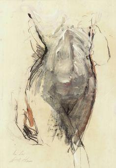 "Saatchi Art Artist Ute Rathmann; Drawing, ""Nude XXVI"" #art"