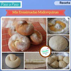 Mis Ensaimadas Mallorquinas. Made in Cocina Blog.