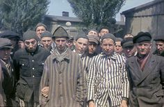 These colour photos show the earliest concentration camps set up by the Nazis after they rose to power