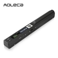 Portable Scanner Aoleca 900DPI Handheld Mobile Document Portable Scanner Business Card Hand Scanner and Color(High-Speed USB 2.0,JPG/PDF Format Selection,8G Micro SD Card and OCR Software included): Amazon.co.uk: Computers & Accessories