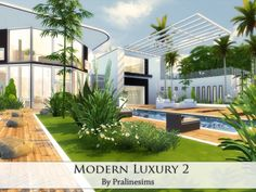 The Sims Resource: Modern Luxury 2 by PralineSims • Sims 4 Downloads