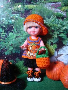 Handmade Crochet Kelly Doll Clothes by sweet-lil-things on eBay