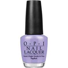 Opi Nail Lacquer You're Such a BudaPest ($9.50) ❤ liked on Polyvore featuring beauty products, nail care, nail polish, beauty, nails, makeup, accessories, opi nail care, opi nail lacquer and opi