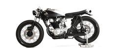 "Honda CB450 ""Motocicletta Quattroemmezzo"" by Anvil Motociclette"