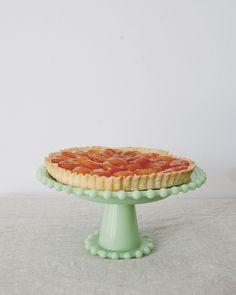 DRIED APRICOT + MASCARPONE TART // The Kitchy Kitchen