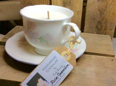 Candle fragranced with Rose geranium oil by ParkBeautySkincare