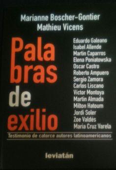 Palabras de exilio - Marianne Boscher-Gontier / Mathieu Vicens - Libro