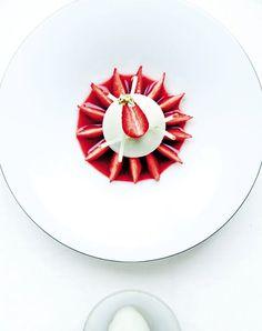 pomme, fraise et vanille