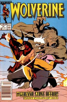 Wolverine Vol. 2 # 14 by Kevin Nowlan