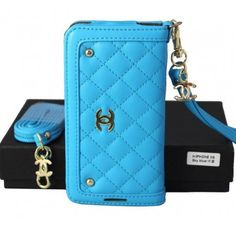 New Arrival Real Chanel iPhone 6 Cases - iPhone 6 Plus Cases - Blue - Free Shipping - Chanel & Louis Vuitton Authorized Store