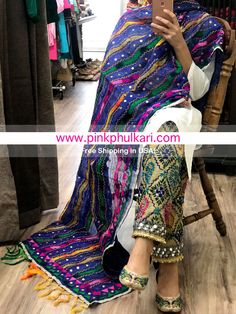 Defining the Grace of Punjabi Suits Punjabi Fashion, Ethnic Fashion, Indian Fashion, Modern Outfits, Stylish Dresses, Casual Dresses, Girly Outfits, Phulkari Pants, Kurti Pants