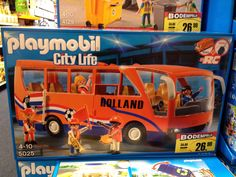 Love this Playmobil Dutch soccer supports bus (European Championship 2012)