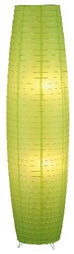 Myra - zelené papierové svietidlo stojanové - 1300mm